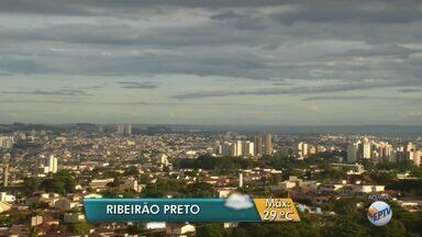 Confira a previsão do tempo para esta quarta-feira (1º) em Ribeirão Preto, SP - Segundo meteorologistas, a temperatura máxima deve ser de 29ºC.