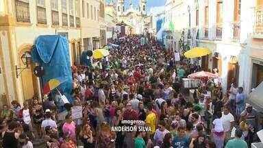 Bloco do Pantanal encerra a programação de carnaval em São João del Rei - Para muita gente, a sensação já era de nostalgia no último dia do carnaval na cidade histórica.