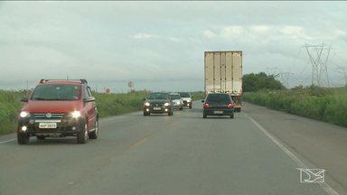 Motoristas enfrentam estradas após feriado de carnaval no MA - Movimentação dos motoristas voltou a ficar mais intensa nas rodovias que cortam o estado como foi o caso da BR-135.