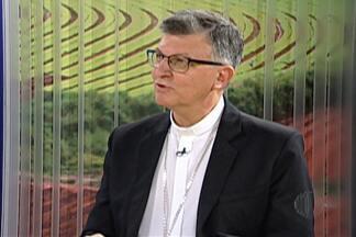 """Dom Pedro Stringhini fala sobre início da Campanha da Fraternidade - Campanha de 2017, da Igreja Católica, tem como tema """"Fraternidade: Biomas Brasileiros e Defesa da Vida""""."""