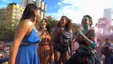 Bahia Folia: veja um resumo com os melhores momentos do último dia de carnaval na Avenida - A terça-feira (28) de carnaval foi da Pipoca e de grandes nomes no circuito Osmar (Campo Grande).
