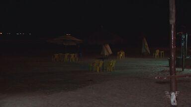 Falta de luz na praia da Enseada é motivo de reclamação - Moradores de Guarujá falam do problema.