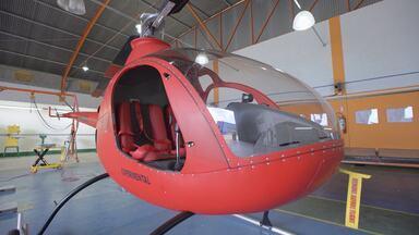 Publicidade Aérea, Helicópteros Experimentais E Limpeza De Aeronaves