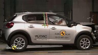 Novo Citroën C3 europeu consegue 4 estrelas em teste de colisão - Modelo não é comercializado no Brasil.