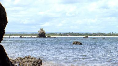O Pé na Pista faz um passeio de barco por várias ilhas da Baía de Camamu - O Pé na Pista faz um passeio de barco por várias ilhas da Baía de Camamu