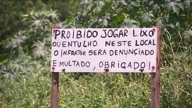 Guarulhos sofre com o descarte ilegal de lixo e entulho - Na cidade, há pelo menos três pontos em que as pessoas fazem todo tipo de descarte, sem qualquer fiscalização.