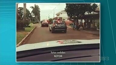 Três pessoas são presas em operação da polícia civil em Terra Rica - Além das prisões, quatro pessoas foram encaminhadas pra delegacia pra prestar depoimentos.