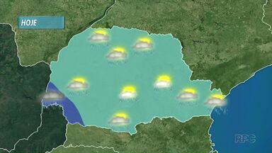 Tempo permanece instável no norte do estado segundo a previsão - Segundo a meteorologia, os próximos dias seguem típicos de verão: sol, calor e pancadas isoladas de chuva.