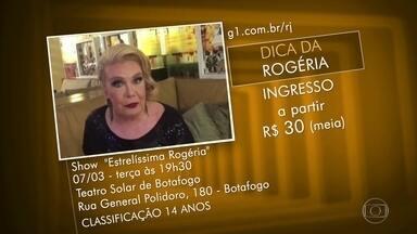 """Dicas dos Telespectadores - Shows de Rogéria, e Vanessa Jackson. Feira Vegana Vida Liberta, Feijoada no Renascença Clube, no Andaraí, e desfile do Bloco """"Mancando de Ré"""", em Niterói."""