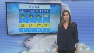 Confira a previsão do tempo para este sábado (4) no Sul de Minas - Confira a previsão do tempo para este sábado (4) no Sul de Minas