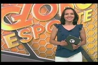 Confira na íntegra o Globo Esporte deste sábado (4) - Jogadoras do Praia participam de noite de autógrafos em Uberlândia. Uberaba enfrenta Boa Esporte pela quarta rodada do Módulo II.
