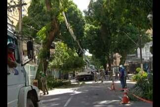 Av. Nazaré tem trecho interditado para manutenção em árvores - Trânsito na área sofreu alterações na manhã deste sábado, 4.