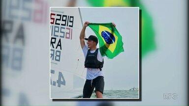 Andrey Godoy comemora Tricampeonato Sulamericano - O atleta de Foz acabou de chegar e já está com as malas prontas pra próxima disputa.