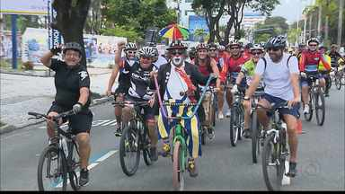 """JPB2JP: Neste domingo tem mais uma edição do """"Vou de Bike"""" - Passeio do Cabo Brando até a Praça da Independência."""