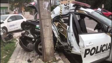 Foi enterrado o médico do IML que morreu em acidente de trânsito - O médico estava em uma viatura atingida por outro carro.