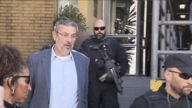 Ex-executivo da Odebrecht diz a Moro que Palocci é o Italiano da planilha - Ele foi ouvido como testemunha de defesa em ação da Lava Jato.Palocci teria recebido e repassado ao PT R$ 128 milhões, segundo MP.