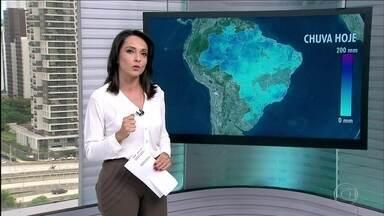 Veja a previsão do tempo para esta quarta-feira (8) - Previsão do tempo para todo Brasil nesta quarta-feira (8).