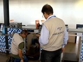 Ipem realiza fiscalização em balanças de companhias aéreas - Ação aconteceu nesta segunda-feira (13), no aeroporto de Pres. Prudente.