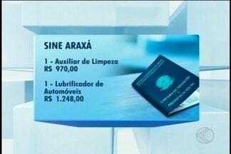 Sine de Araxá divulgou o balanço do segundo semestre de 2016; confira as vagas desta terça - Unidade fica na Rua Franklin de Castro, 178, Centro.