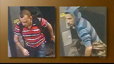 Assaltante dos Correios é preso e levado para a Polícia Federal - Os outros assaltantes conseguiram fugir.