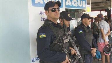 PM reforça policiamento em agências da Caixa Econômica Federal - Objetivo é evitar assaltos durante o período de saque do FGTS inativo.