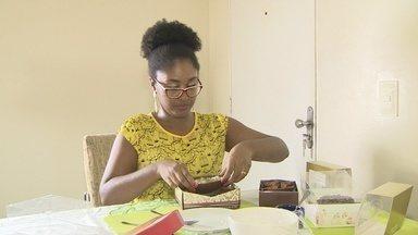 Produtores artesanais de ovos de páscoa estimam lucros em Manaus - Venda do doce é opção de renda extra para Páscoa.