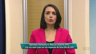 Márcio Carneiro (PPS) vira réu mais uma vez em esquema de fura-fila do SUS - O caso é investigado pela Operação Fantasma II, em Guarapuava.