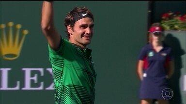 Roger Federer bate compatriota e conquista Masters 1000 de Indian Wells - Suíço venceu por 2 a 0.