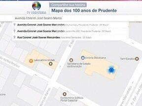 Veja como participar do 'Mapa dos 100 anos de Prudente' - Envie fotografias contando as histórias da cidade ao SPTV 1ª Edição.