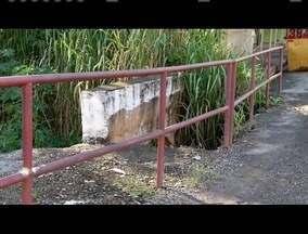 Calendário: Moradores de Coronel Fabriciano reclamam de más condições de uma ponte - Ela precisa de reparos ou até mesmo de ser refeita.