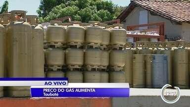 Preço do gás de cozinha vai aumentar quase 10% - Aumento foi anunciado pela Petrobras.