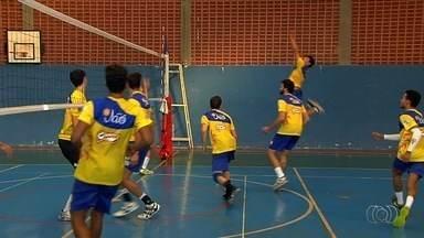 Equipes goianas de vôlei se enfrentam na fase final da Superliga B - MonteCristo e Jaó iniciam melhor de três nesta terça-feira