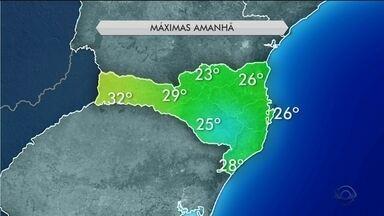 Quarta-feira (22) tem temperaturas amenas em todas as regiões de SC - Quarta-feira (22) tem temperaturas amenas em todas as regiões de SC
