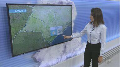 Temperaturas continuam baixas durante madrugada desta quarta, segundo meteorologia - Máxima fica na casa dos 16º C, em Holambra.