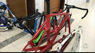 JPB2JP: Bicicletas que estavam à venda na Internet são apreendidas em Bayeux - Segundo a Polícia elas são roubadas.