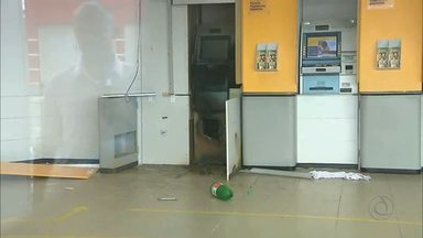 Agência bancária é assaltada na cidade de Cabedelo - Além disso, posto de atendimento bancário foi atacado na região de Patos.