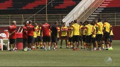 Vitória tem jogo decisivo contra o Sergipe nesta quarta (22) pelo Nordestão - Confira as notícias do rubro-negro baiano.