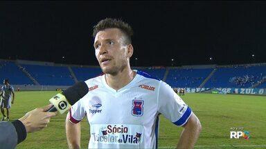 """Eduardo Brock avalia empate do Paraná: """"Para o campeonato, não é ruim"""" - Eduardo Brock avalia empate do Paraná: """"Para o campeonato, não é ruim"""""""