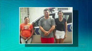 Três pessoas são presas suspeitas de estelionato em Araguatins - Três pessoas são presas suspeitas de estelionato em Araguatins