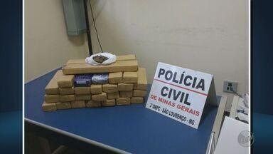 Polícia apreende 18 Kg de maconha dentro de armário em São Lourenço (MG) - Polícia apreende 18 Kg de maconha dentro de armário em São Lourenço (MG)