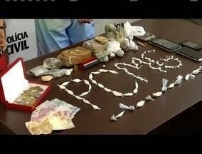 Polícia Civil prende jovem suspeito de tráfico de drogas em Ipatinga - Além dele, um menor de 16 anos também foi apreendido na ocorrência.