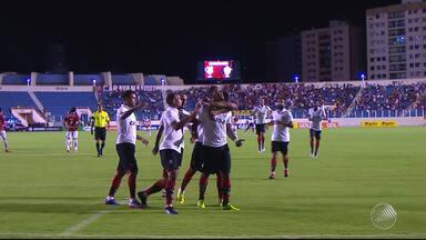 Vitória derrota o Sergipe em jogo pela Copa do Nordeste - Partida aconteceu na quarta-feira (22).