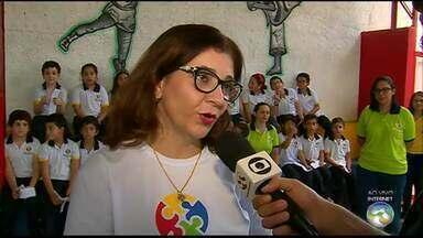 'ABTV Vai à Escola' desta quinta-feira vai a Escola Construtivo - Quadro foi até escola de Caruaru.