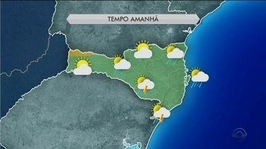 Sexta-feira (24) tem sol com previsão de chuva em Santa Catarina - Sexta-feira (24) tem sol com previsão de chuva em Santa Catarina