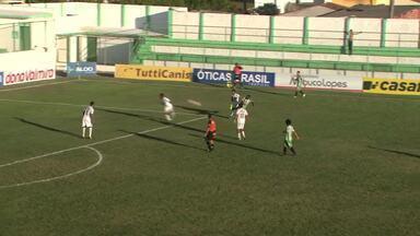 Murici vence o Miguelense por goleada - Jogo terminou 5 a 1.