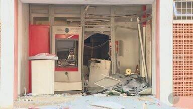 Grupo troca tiros com a polícia e explode caixas eletrônicos em Morungaba no sábado - O domingo (2) foi tranquilo na cidade após a ação na madrugada de sábado, que assustou os moradores da cidade. Um dos caixas eletrônicos ficava na Prefeitura da cidade.