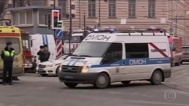 Líderes mundiais manifestam solidariedade aos russos - França mandou reforçar segurança nos transportes públicos de Paris. Na Alemanha, as reações foram de lamento e preocupação.