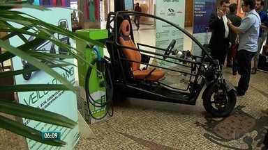 Carro elétrico vai poder ser alugado no Recife - Vagas especiais vão estar localizadas no Rio. Carro é 100% brasileiro.