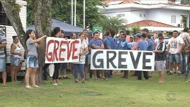 Servidores municipais decidem manter greve em Jaraguá do Sul - Servidores municipais decidem manter greve em Jaraguá do Sul