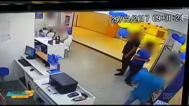 Aumento de assaltos em lojas de eletrônicos dentro de shoppings preocupa lojistas - Em um mesmo dia duas lojas de shoppings foram assaltadas em Curitiba.